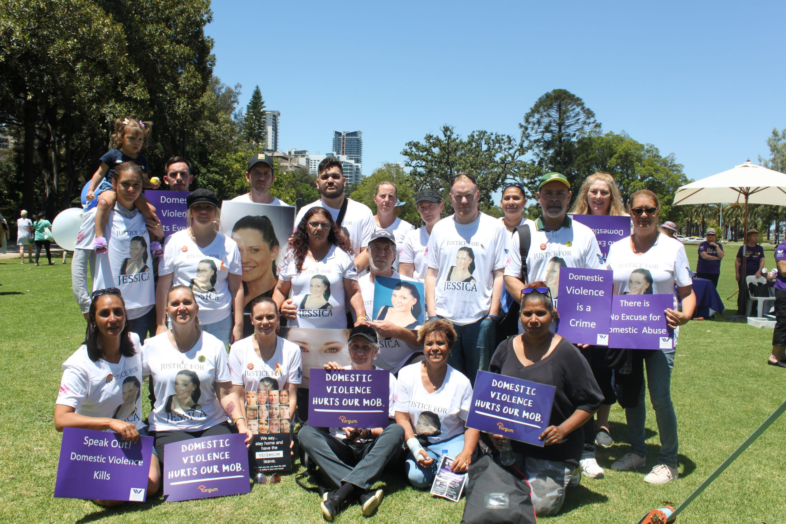 Our Hearts are Heavy as we March – 29th Annual Silent Domestic Violence Memorial March