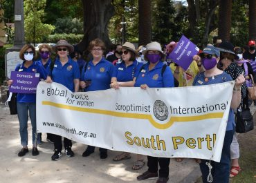 A tale of survival at the 30th Annual Silent Domestic Violence Memorial March